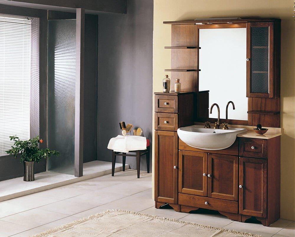 Come aceto e bicarbonato possono aiutare per ottenere un bagno brillante antica farmacia - Accessori bagno in legno ...